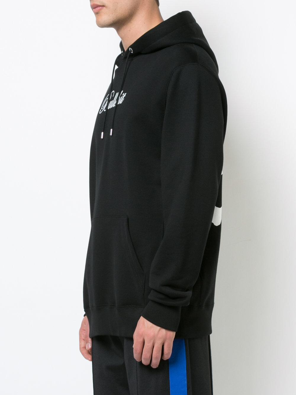 Mastermind Japan Cotton Bullshit Hoodie in Black for Men