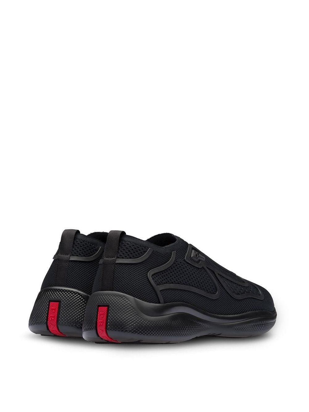 Zapatillas Fabric Prada de Tejido sintético de color Negro para hombre