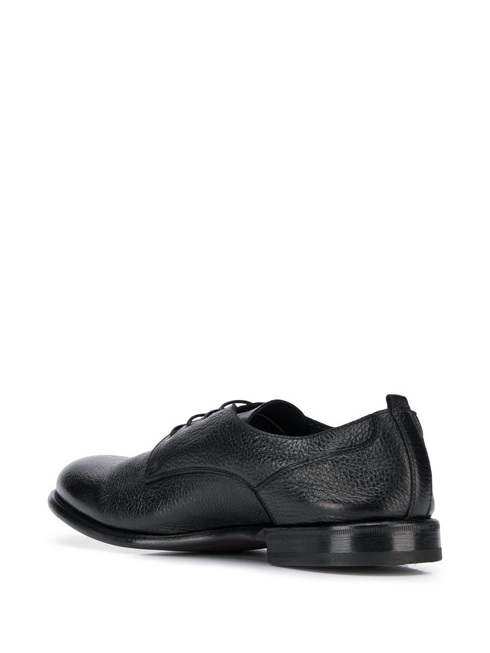 Henderson Leer Schoenen Met Veters in het Zwart voor heren