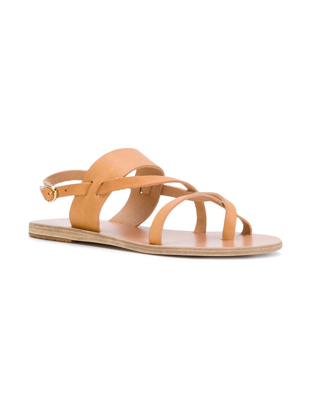 Alethea flat sandals - Nude & Neutrals Ancient Greek Sandals Ebptg