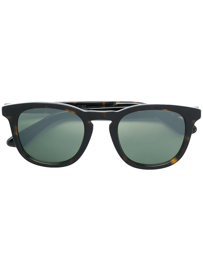 6fdabdbe1893 Lyst - Jimmy Choo Ben 50 Tortoiseshell Sunglasses in Brown for Men