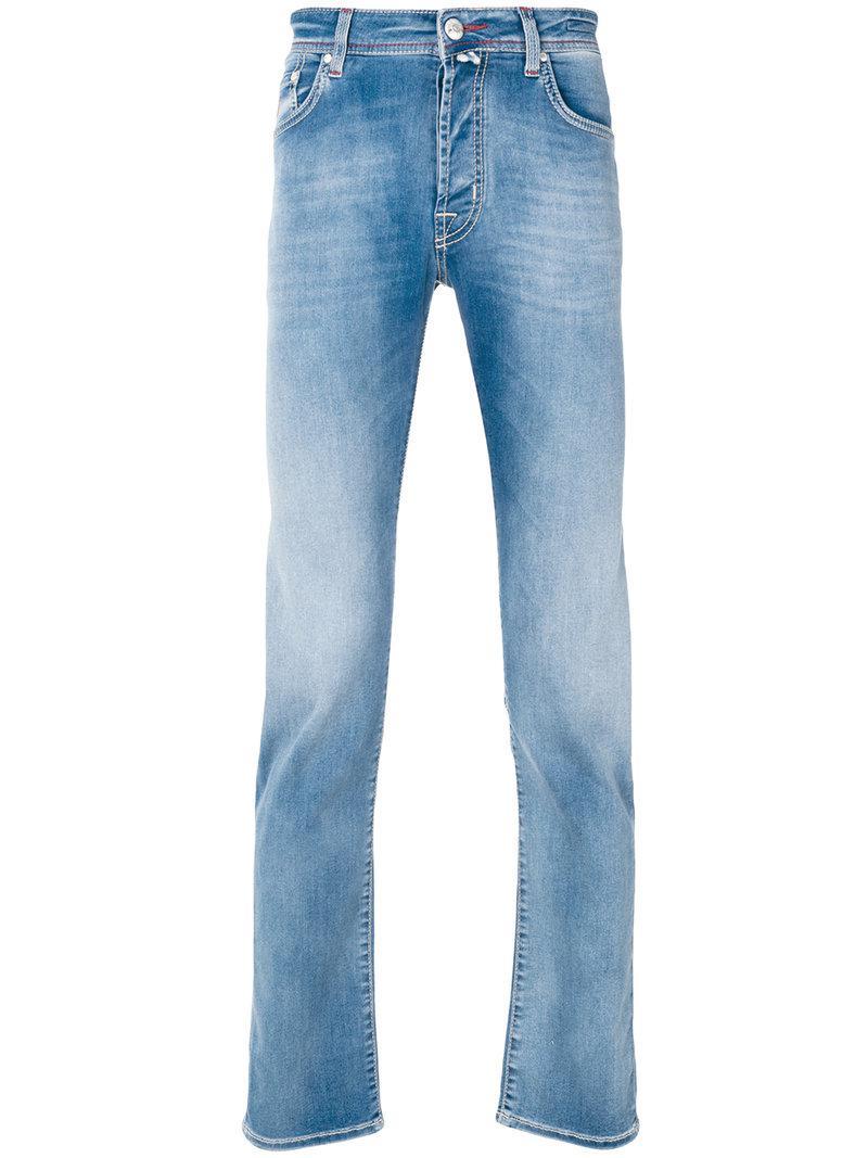 faded slim jeans - Blue Jacob Cohen ynzEWzLDaQ