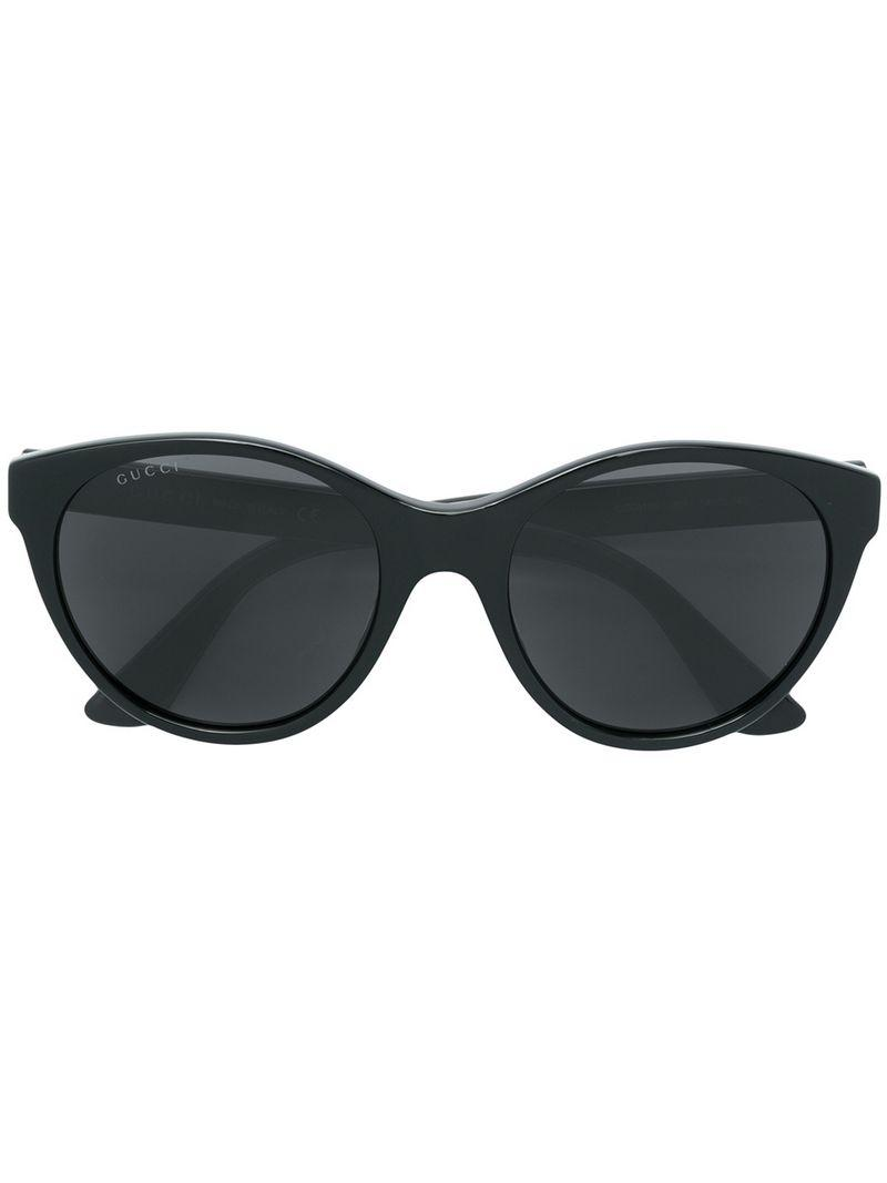 a1a69d84173 Gucci - Black Cat Eye Sunglasses - Lyst. View fullscreen
