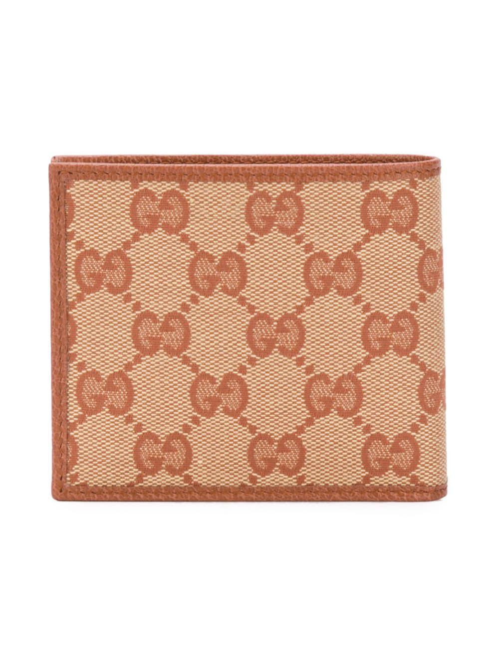 8b5fc781b555 Lyst - Gucci New York Yankees Patch Wallet in Brown for Men - Save 13%