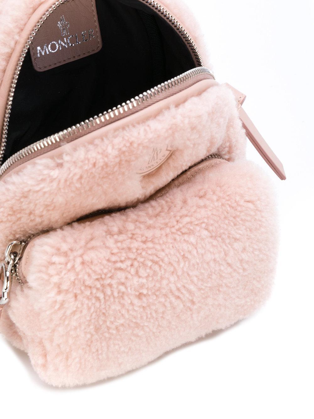f22ad900e Moncler Pink Georgine Crossbody Bag