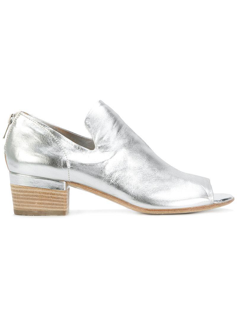 open-toe slip-on - Metallic Officine Creative 6N3cd3u7y
