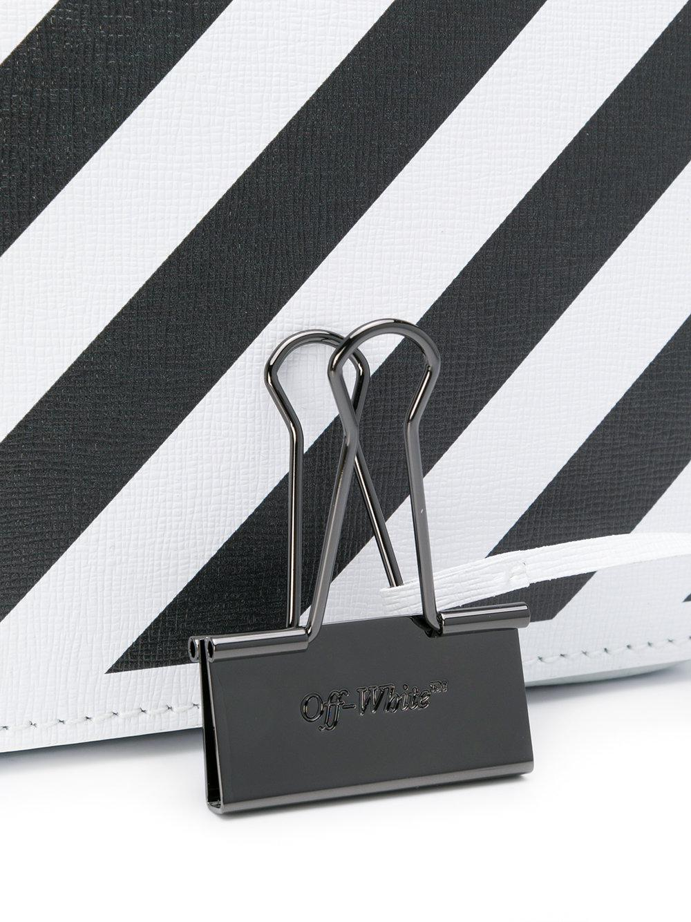 Off-White c/o Virgil Abloh Synthetic Striped Crossbody Bag in White