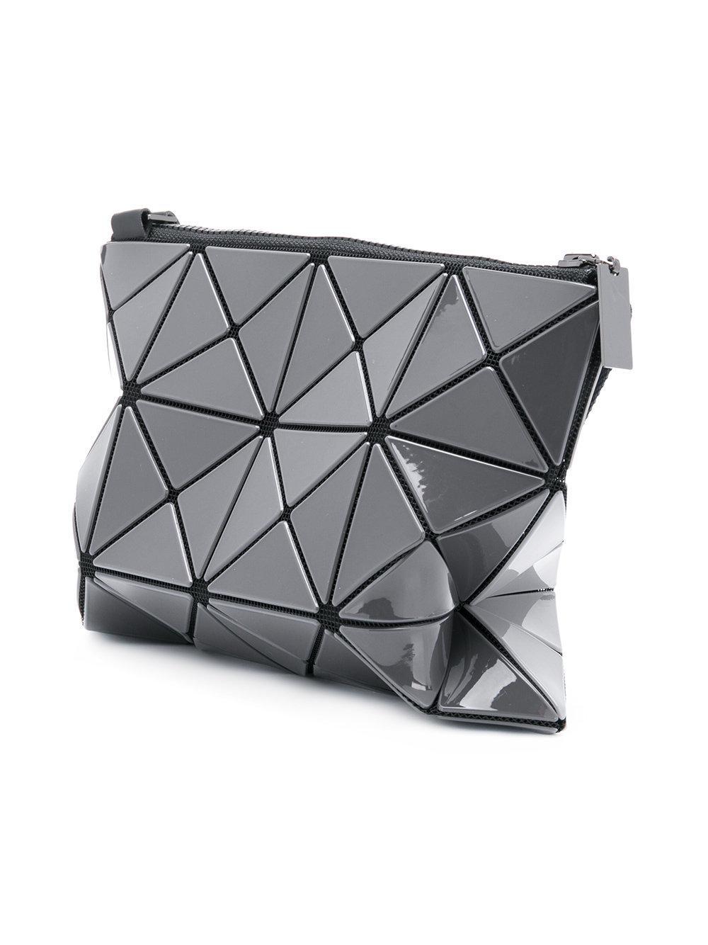 Bao Bao Issey Miyake Geometric Cross-body Bag in Grey (Grey)