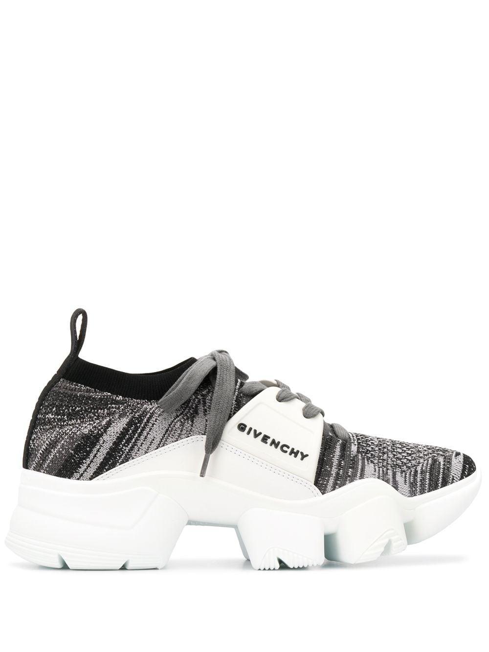Zapatillas bajas con suela gruesa Jaw Givenchy de Cuero de color Negro