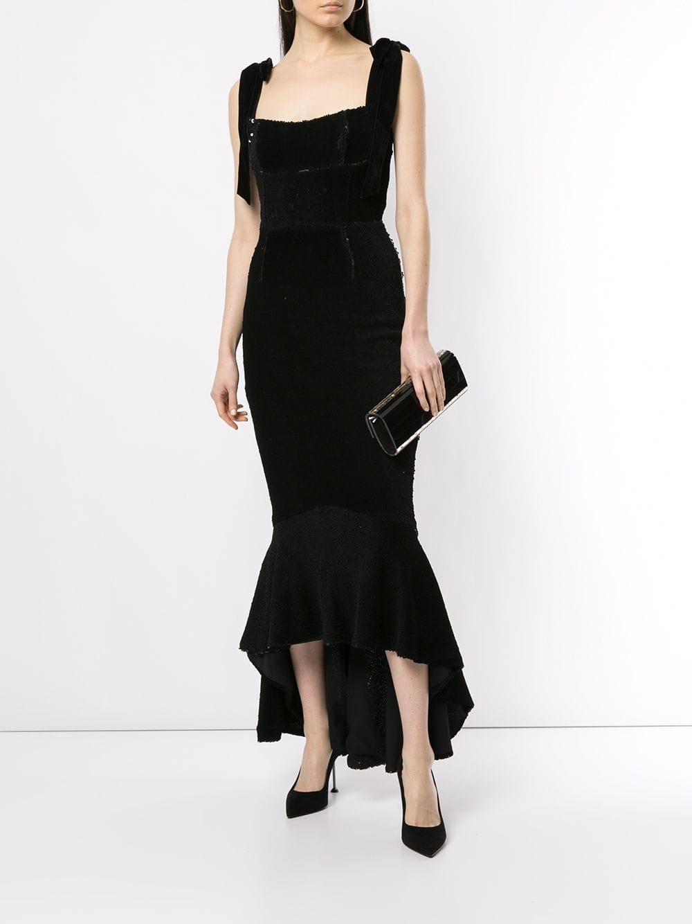 Vestido Addie ajustado con lentejuelas Rachel Gilbert de color Negro