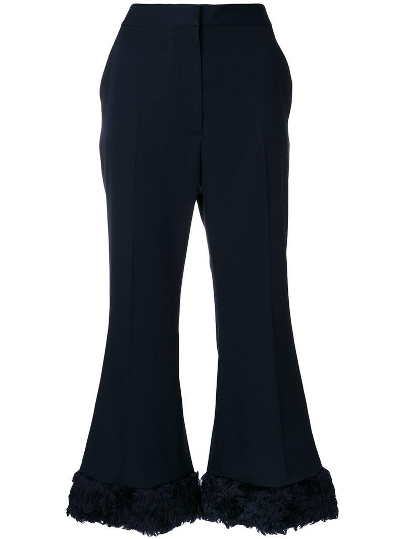 Original Sale Online Cheap Sale Best Seller Stella McCartney Fur Free Fur Malina trousers Find Great For Sale Qjbbi