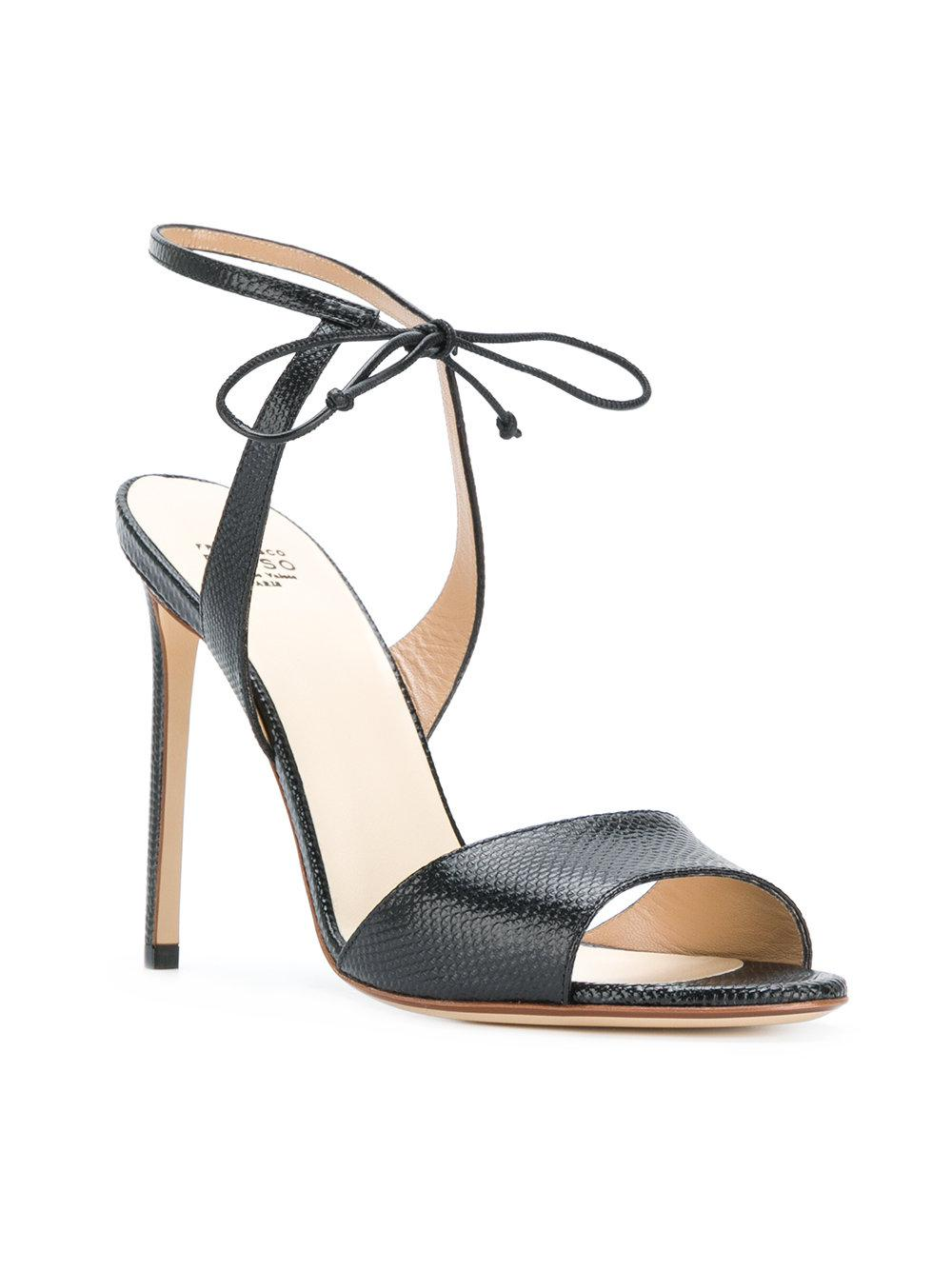 Francesco Russo Hill Sandals In Black Lyst