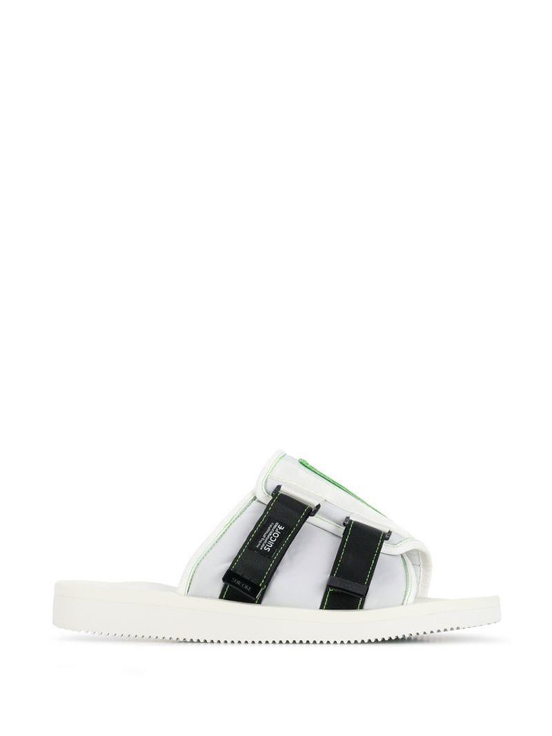 1ae2eed600be Palm Angels Suicoke Slides in White for Men - Save 6% - Lyst