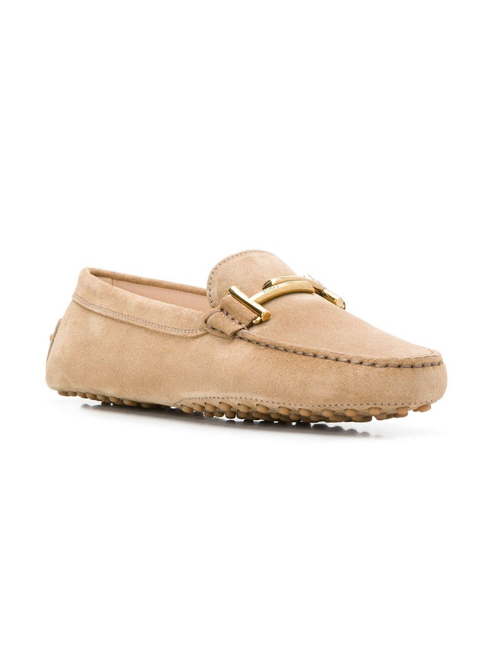 854897be495 Lyst - Tod s Gommino Leather Driving Shoes in Natural - Save  10.714285714285708%
