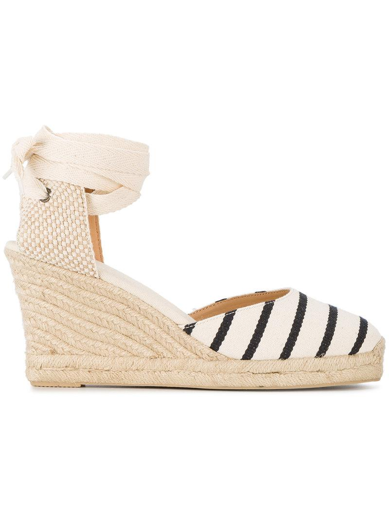 Soludos Wedge heel striped espadrilles y5wAa