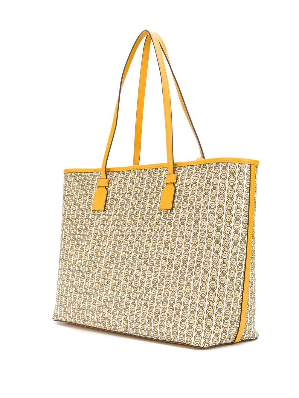 41e993d3ffb1 Tory Burch Tote Bag in Yellow - Lyst