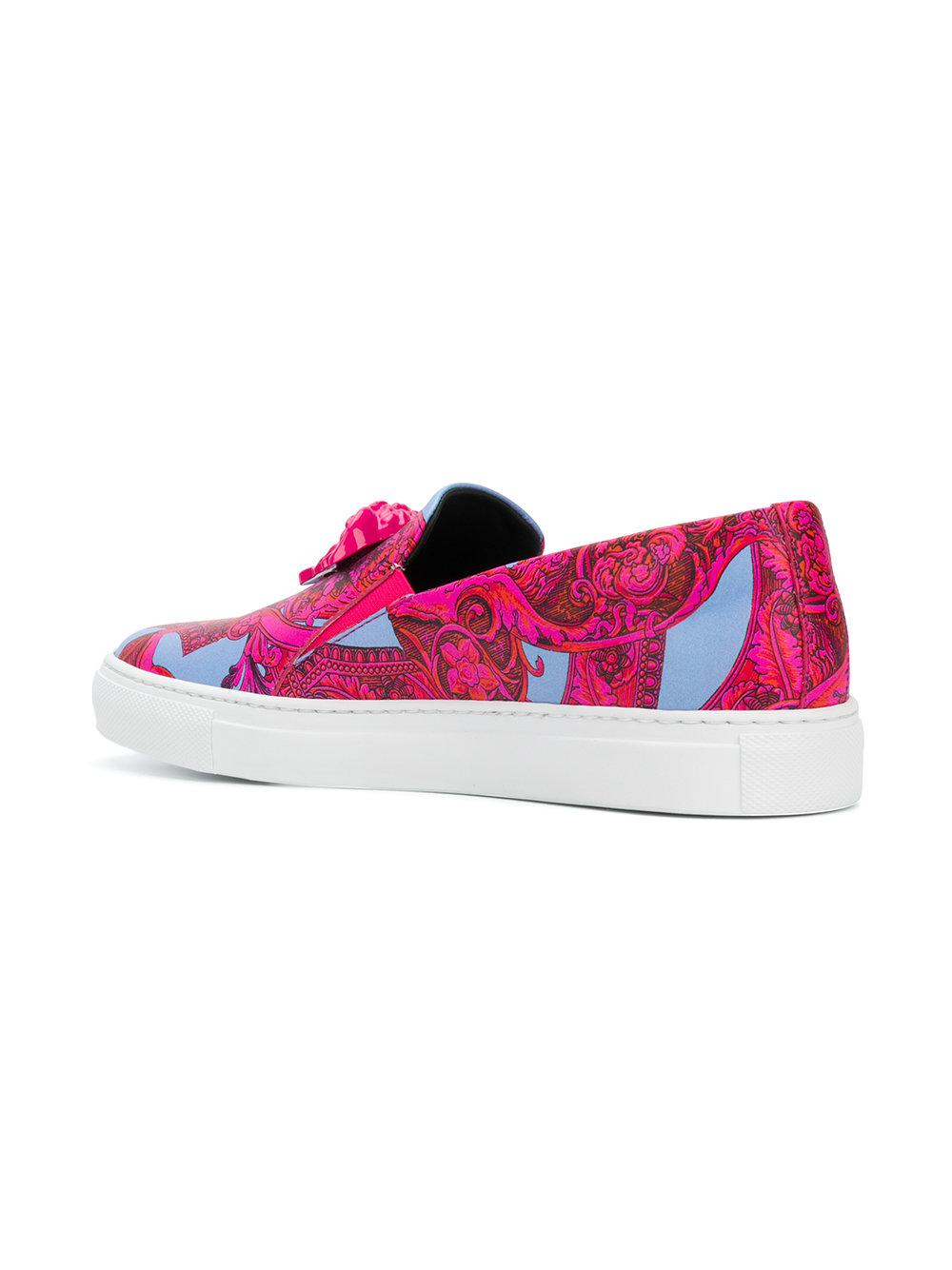 Clearance Footlocker Discount Clearance VERSACE Baroccoflage print sneakers Get Authentic Cheap Price Clearance Popular Buy Cheap Best Seller WLc0qw0A