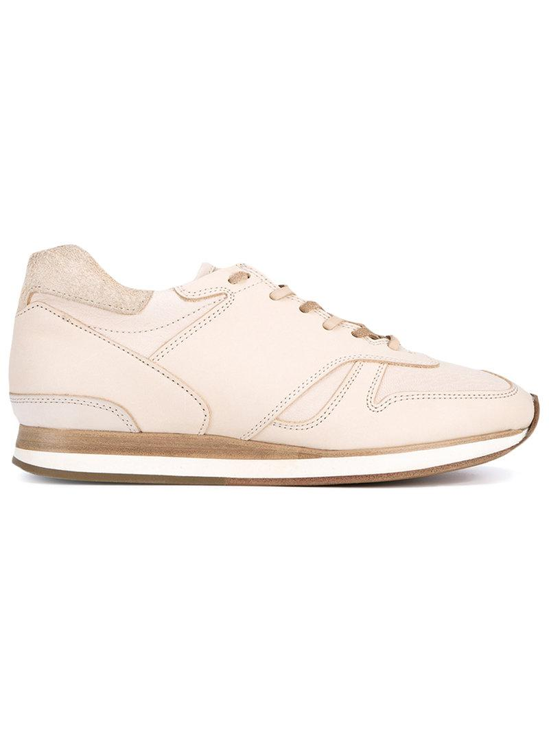 MIP-10 Leather Sneakers - Nude & Neutrals HENDER SCHEME Sale Pay With Paypal Clearance Fast Delivery ZV3sGM