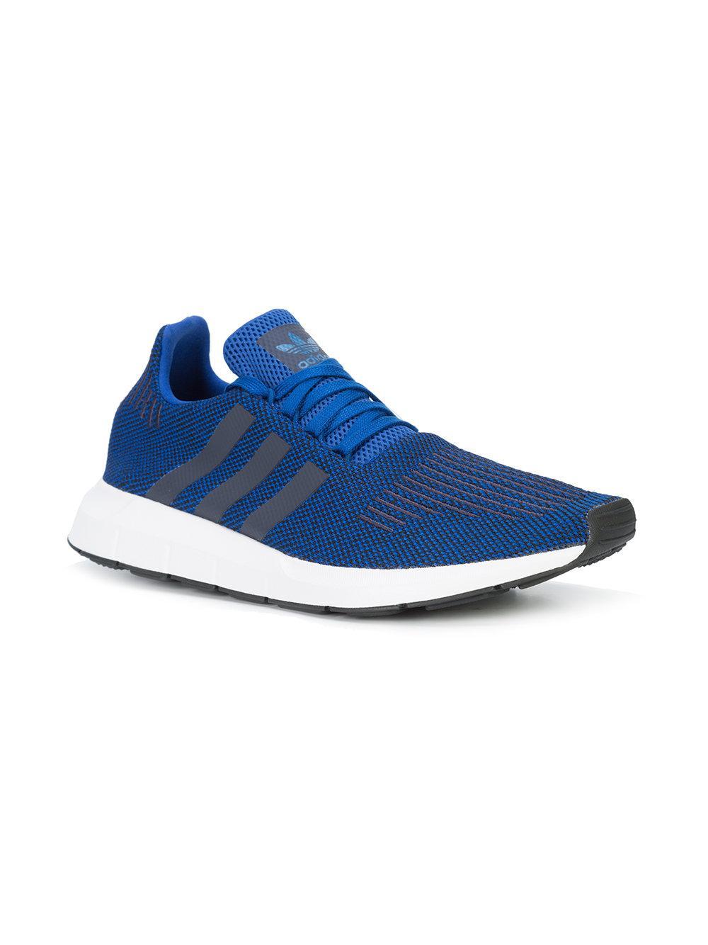 ae5d3ddf85cd2e Adidas Originals Swift Run Sneakers in Blue for Men