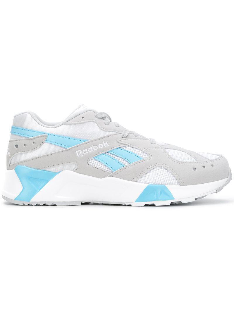 36df3a4527a Reebok Aztrek Sneakers in Gray - Lyst