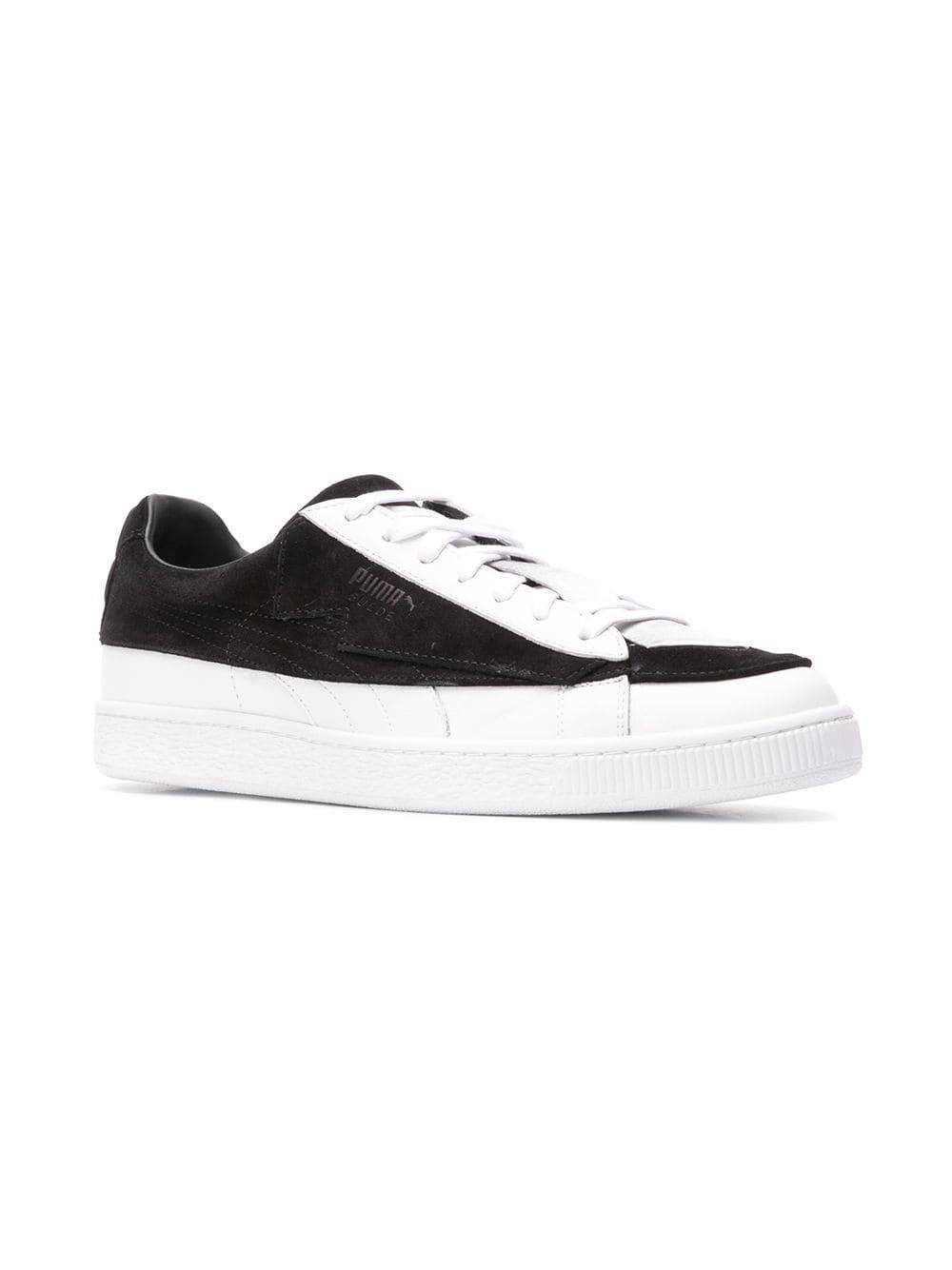 a7ce09883d53 Lyst - Karl Lagerfeld X Puma Tie Sneakers in Black