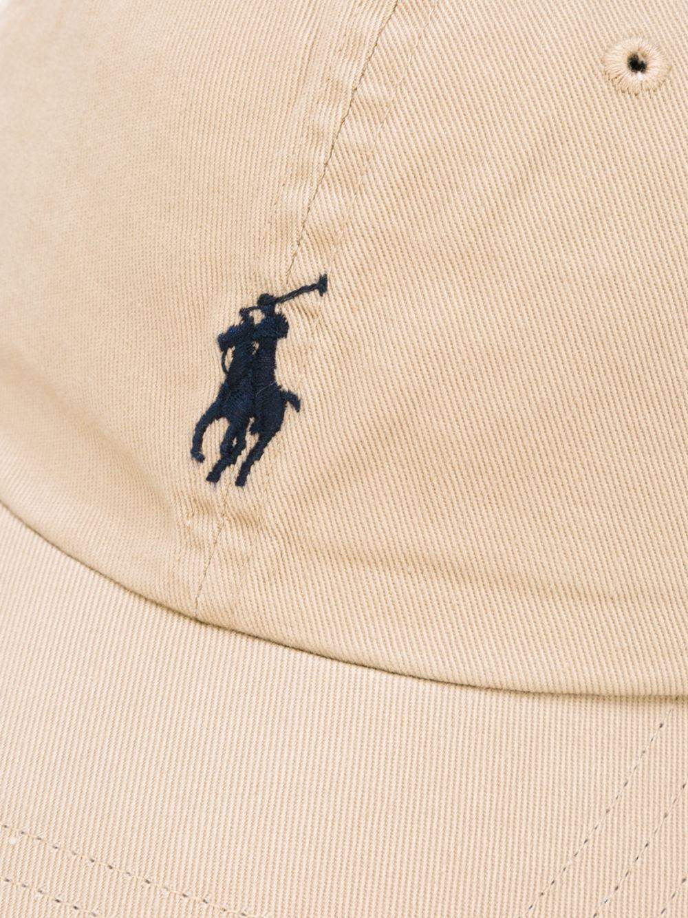Embroidered Polo Cap Lauren In For Logo Ralph Natural Baseball Men 8vmN0nw