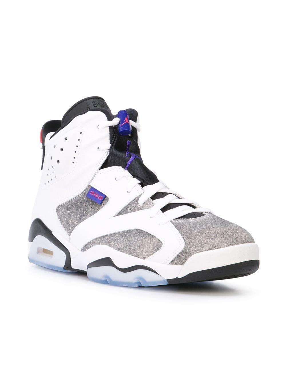 8e57f2c0634f Lyst - Nike Air Jordan 6 Retro Ltr Sneakers in White for Men - Save 23%