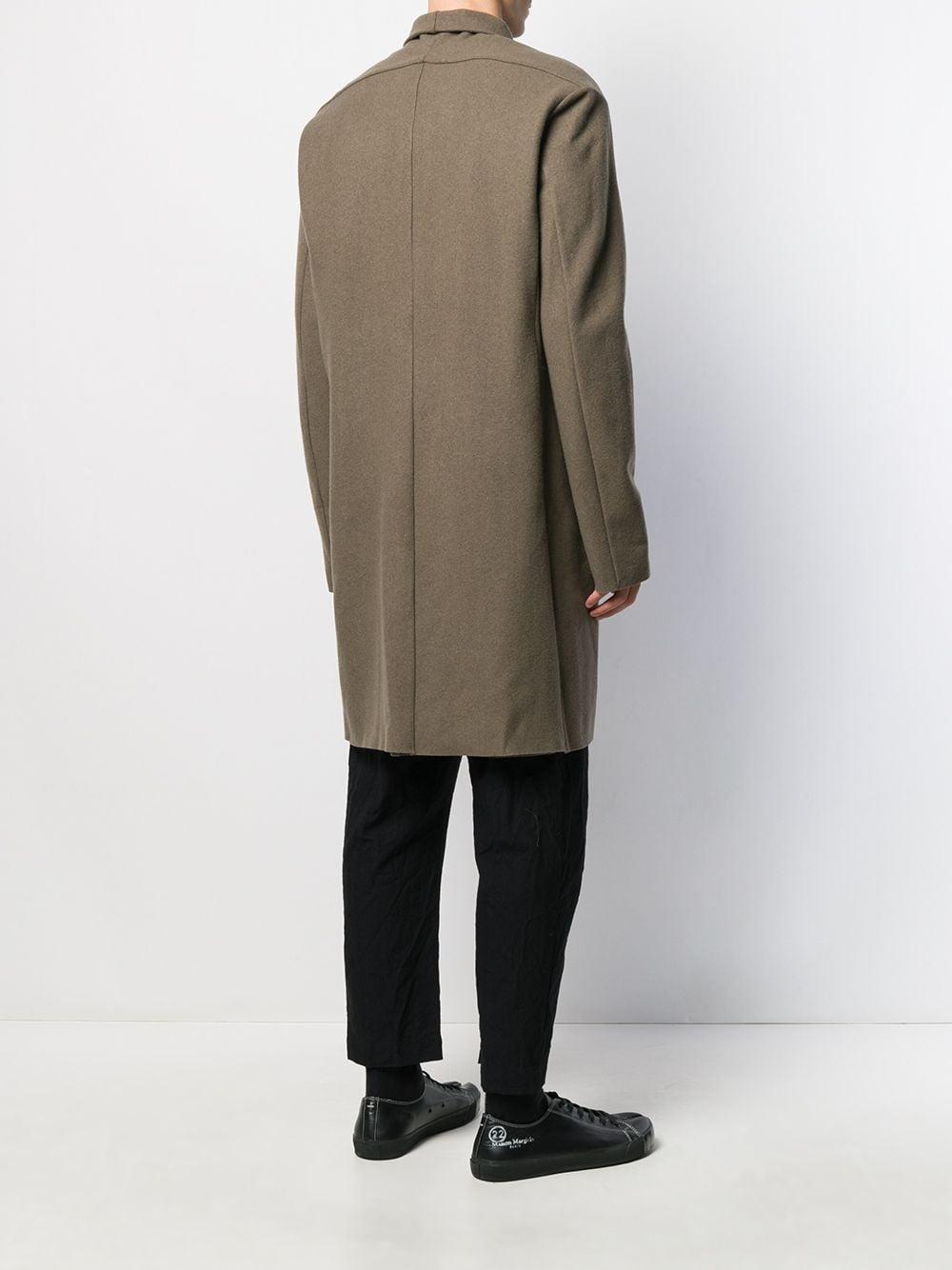 Manteau à col châle Laines Attachment pour homme en coloris Vert XxjM1