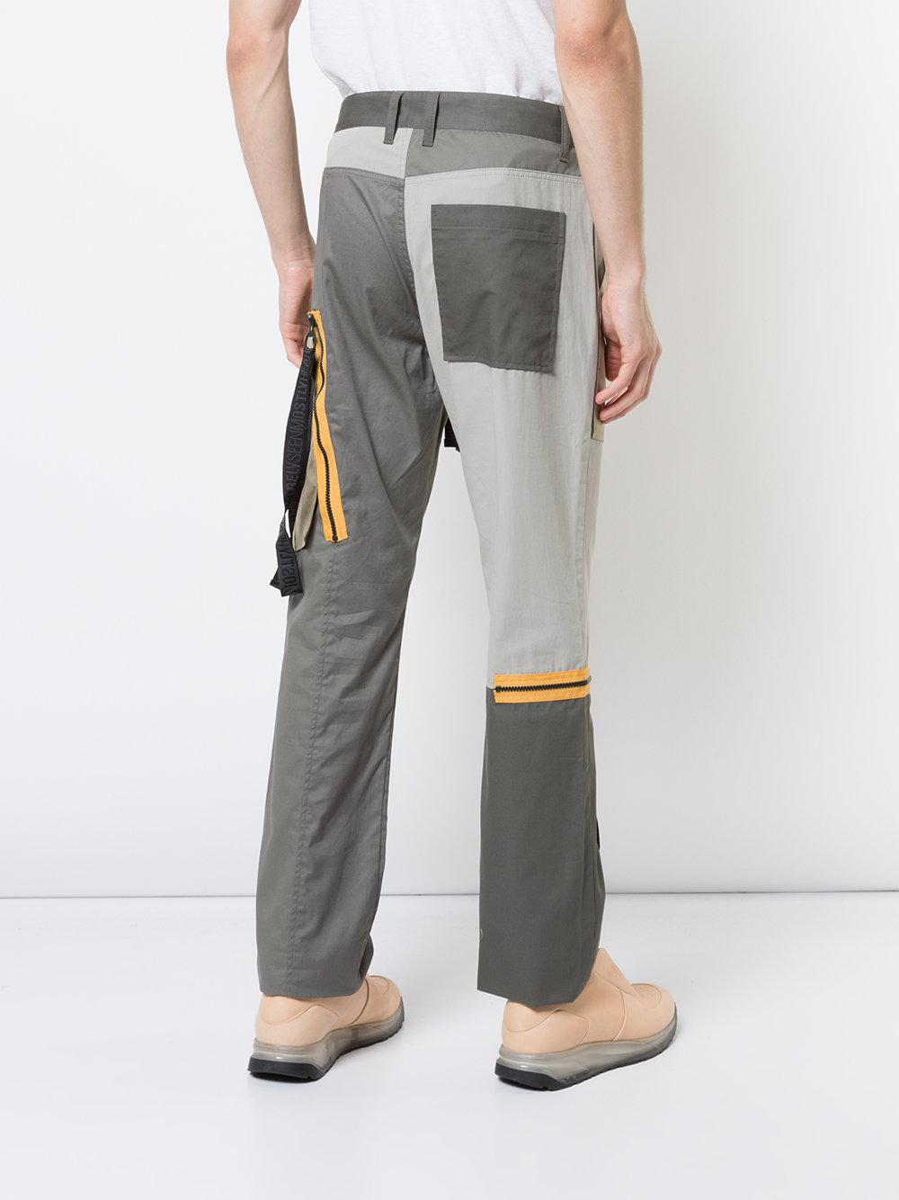 Mostly Heard Rarely Seen World In My Eyes Trousers in Grey (Grey) for Men
