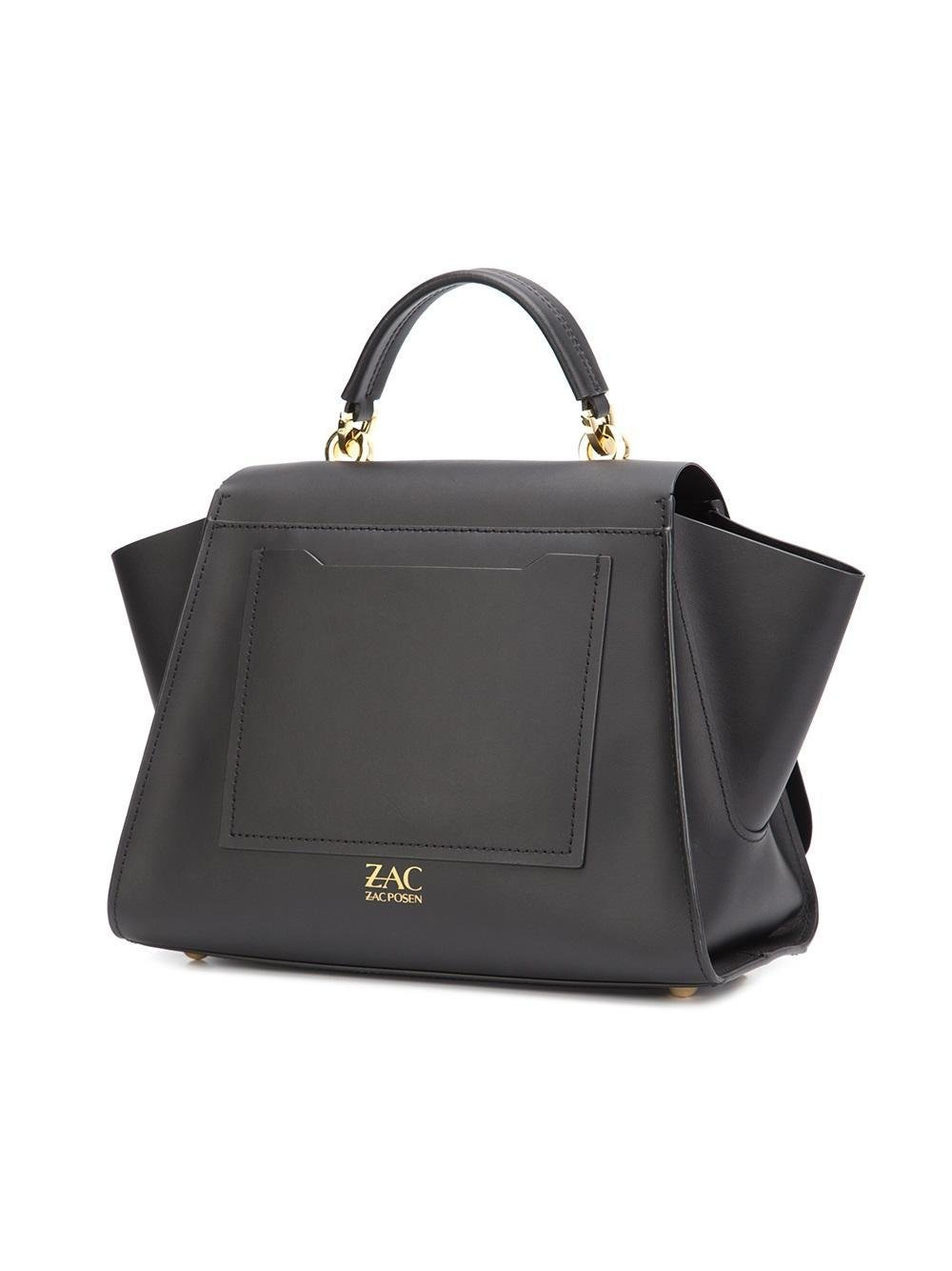 Zac Zac Posen Leather Eartha Iconic Soft Top Handle In