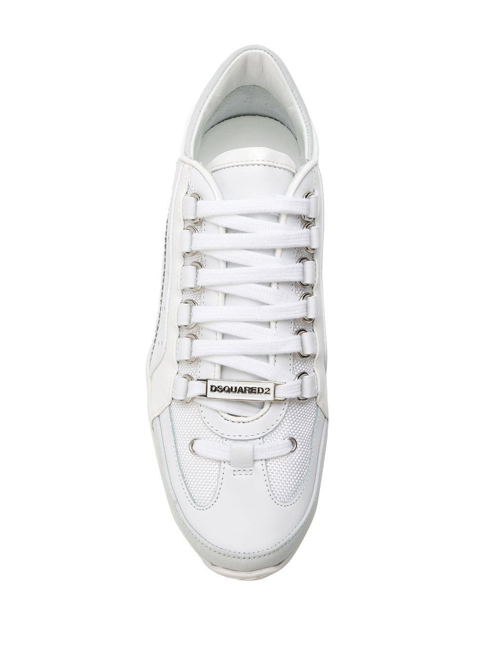 Baskets 551 Synthétique DSquared² en coloris Blanc LrfI