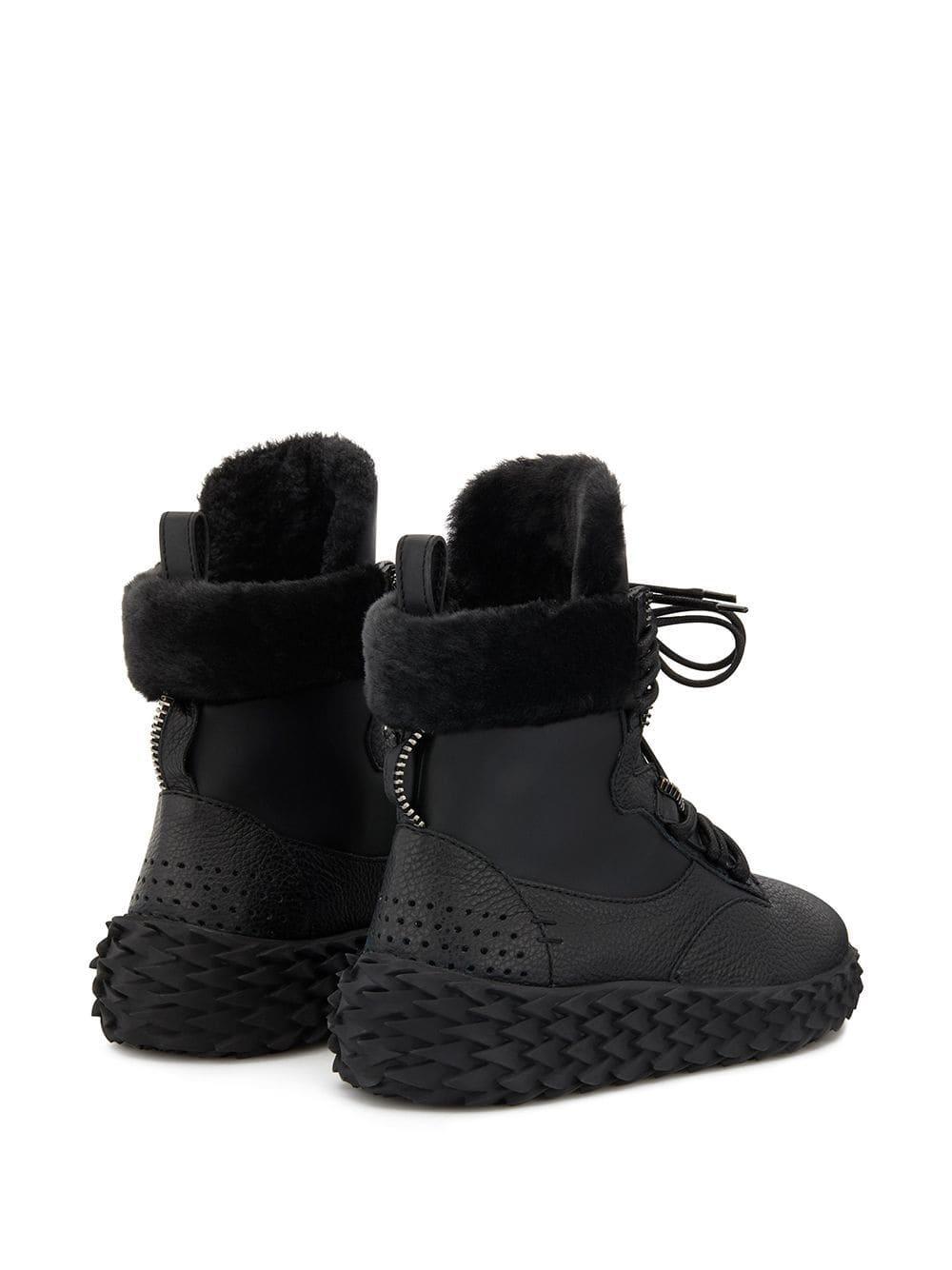 Zapatillas altas Urchin Giuseppe Zanotti de color Negro
