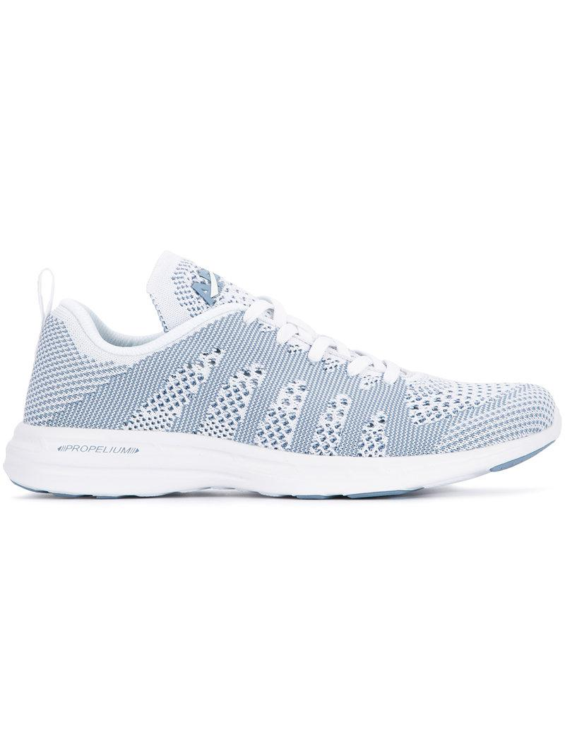 TechLoom lace-up sneakers - White Athletic Propulsion Labs Sale Best Store To Get Cheap Big Discount Clearance Shop For Cheap Sale Supply 02hMy