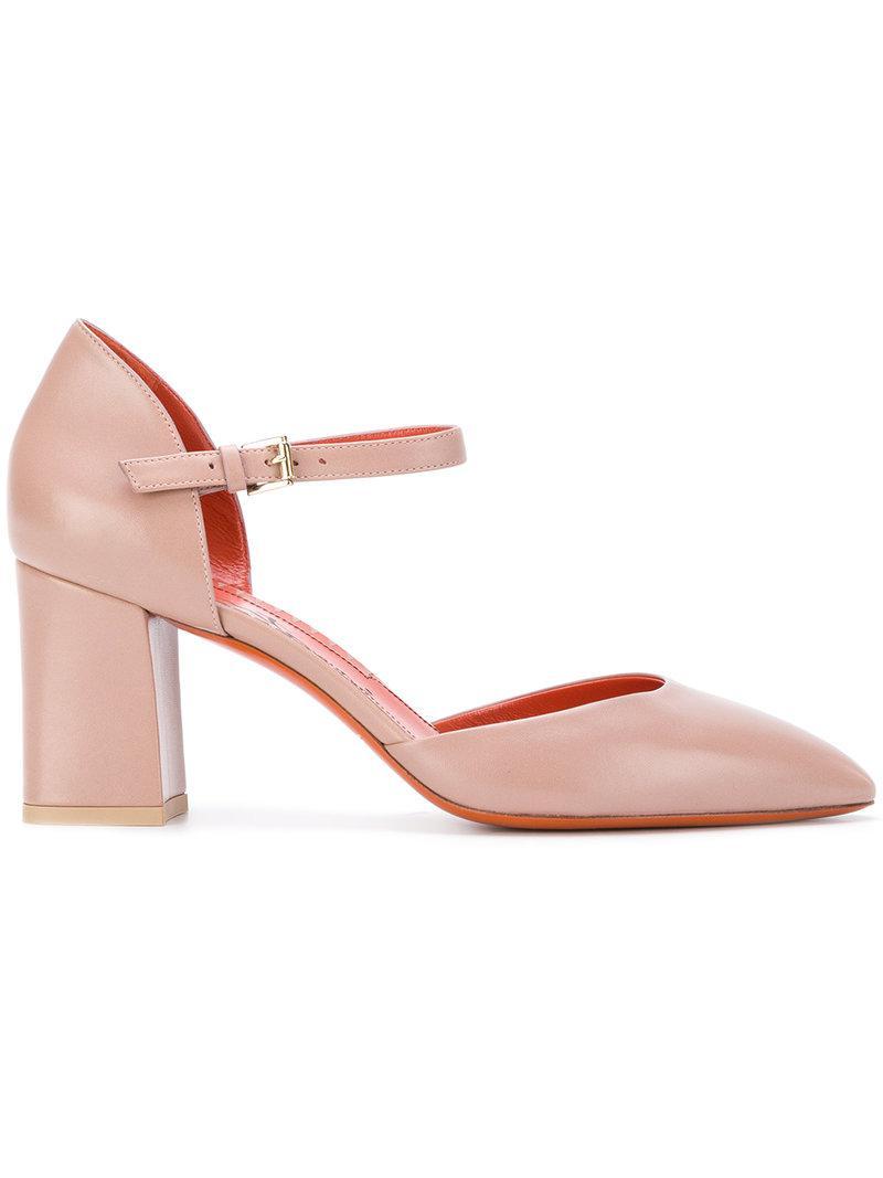 laser-cut sandals - Nude & Neutrals Santoni zbdIRjmUU