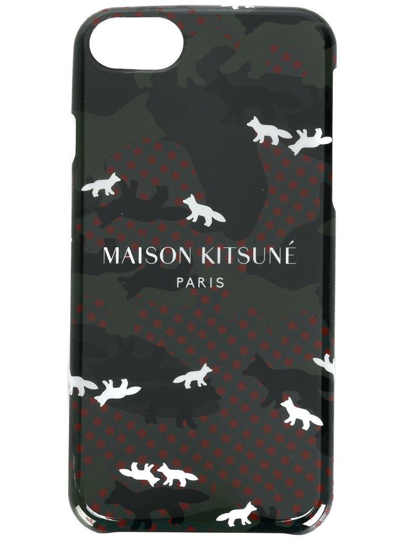 Maison Kitsune Iphone Case