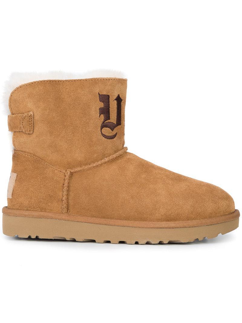 Jeremy Scott UGG x Jeremy Scott Ugg Life embroidered mini boots buy cheap big sale the cheapest sale online ksoyBvCm3