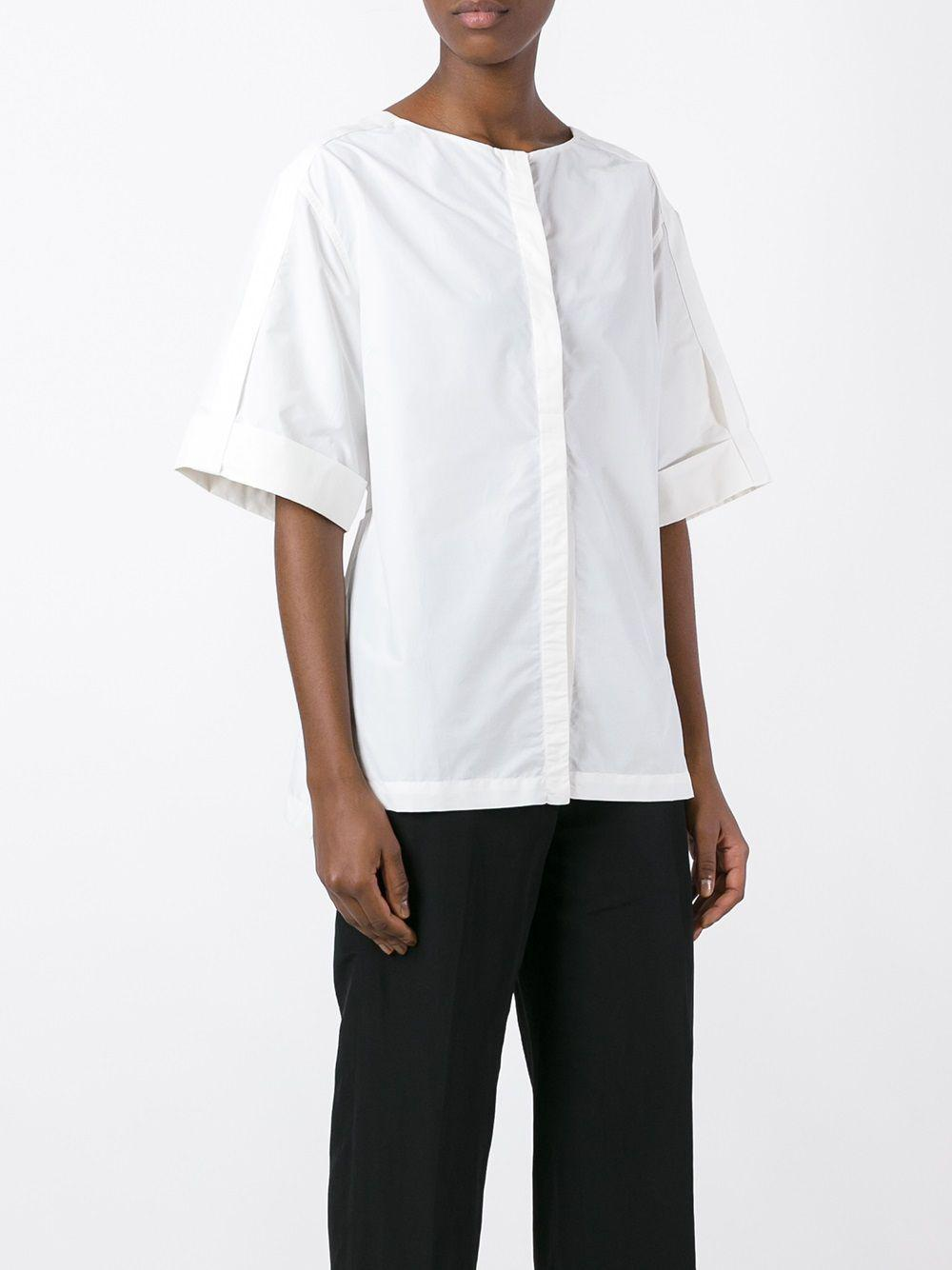 Christian Wijnants Cotton 'thais' Shirt in White