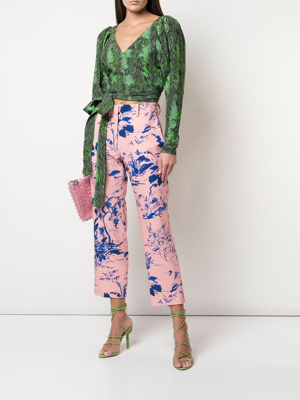 Pantalones Willa capri Sies Marjan de Algodón de color Rosa