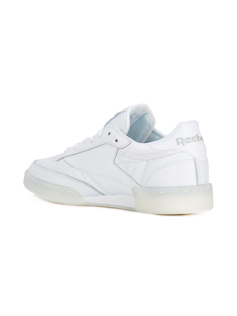 Reebok Leather REEBOK Sneaker classic bianca in White