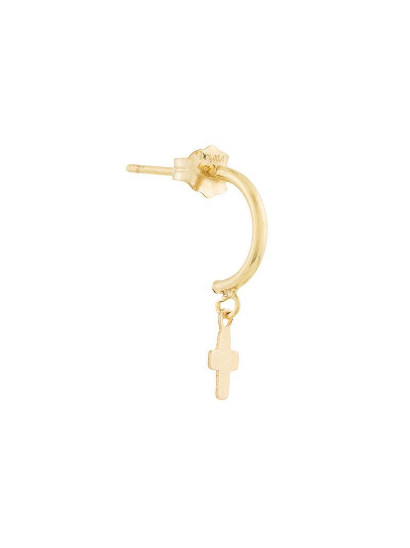 PetiteGrand Gold Heart Mix and Match earring - Metallic RikqgS00AW
