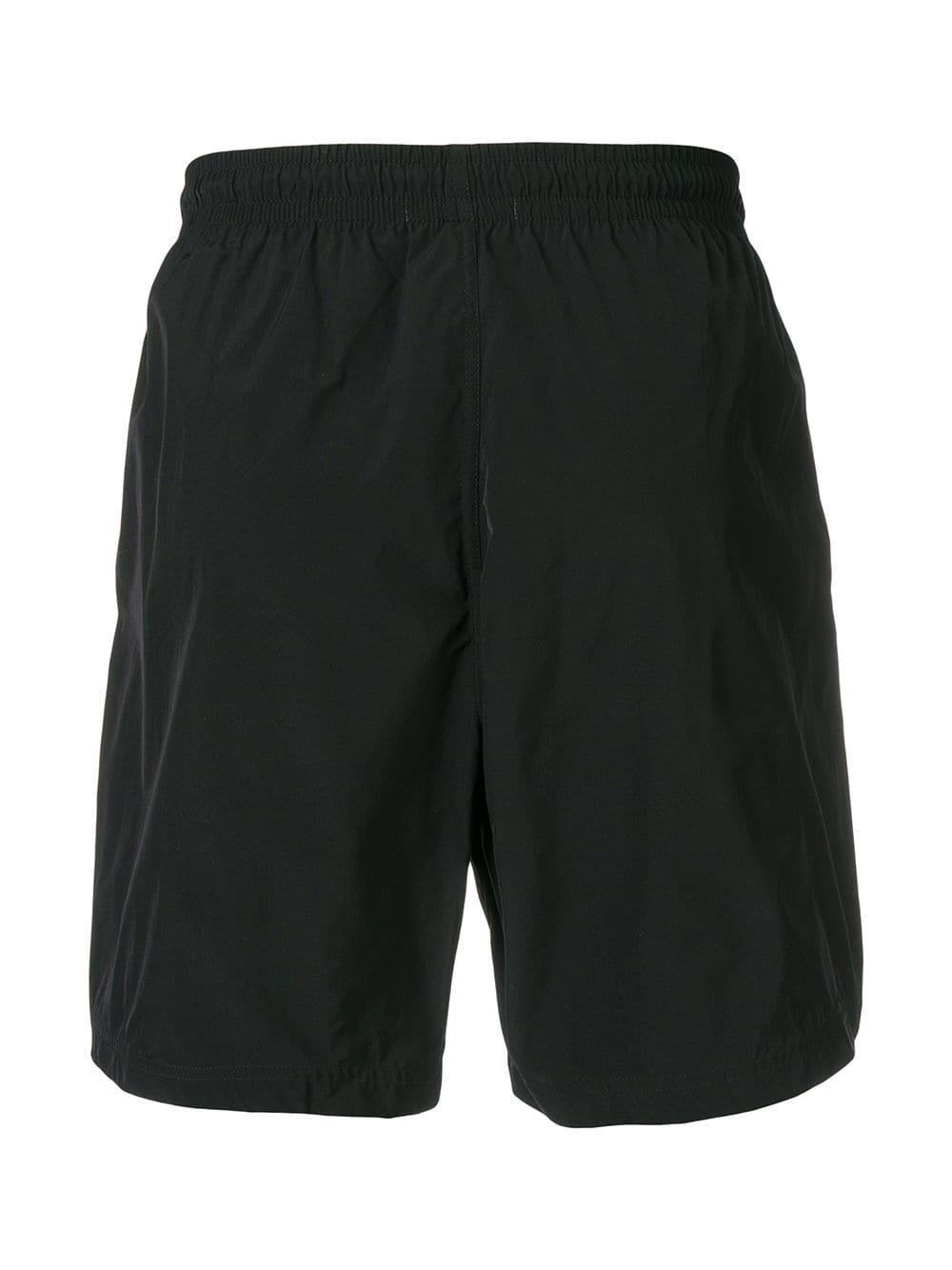 3500e807f4 Alexander McQueen Side-stripe Swimming Trunks in Black for Men - Lyst