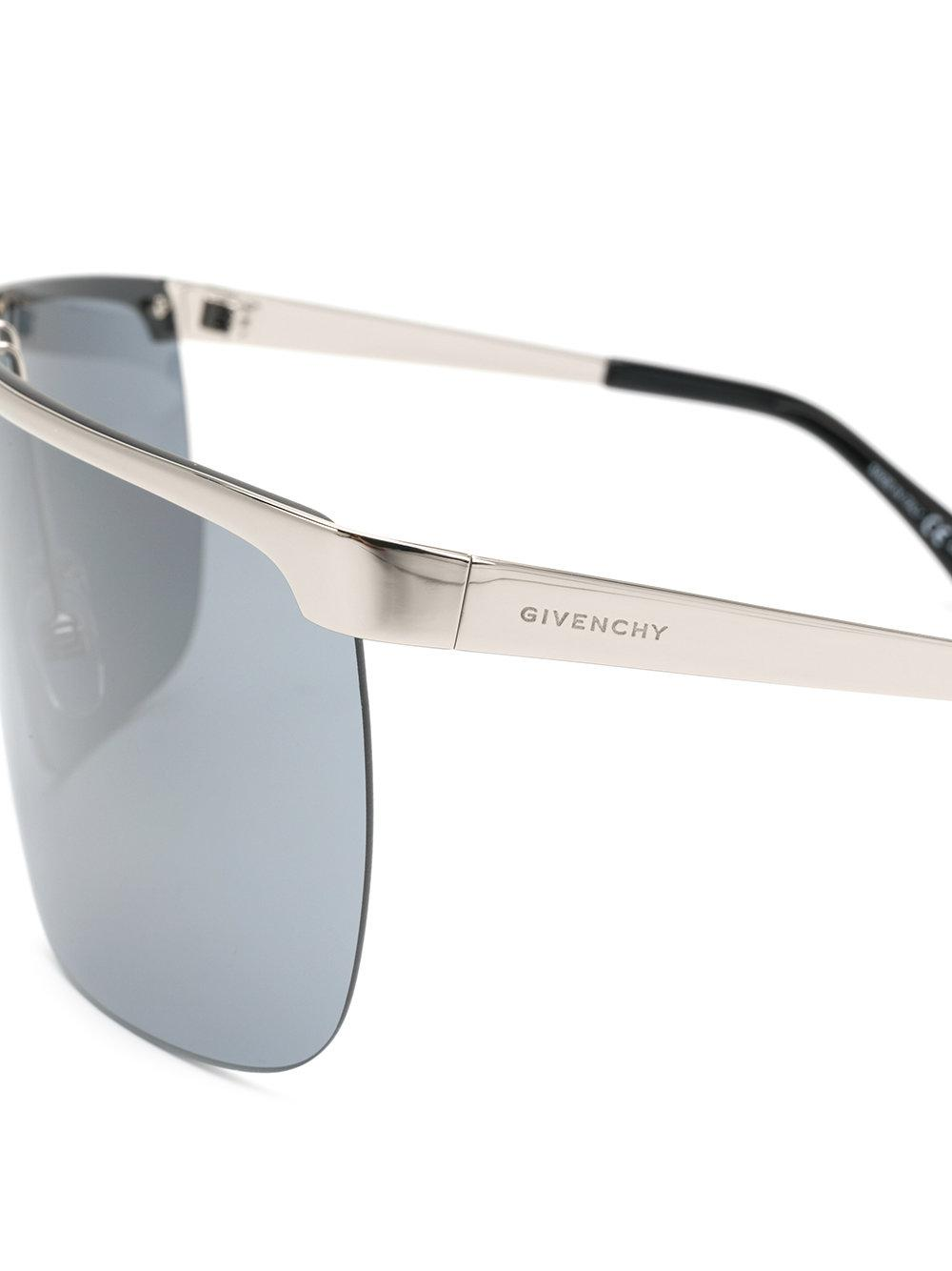 Givenchy Oversized Sunglasses in Metallic for Men