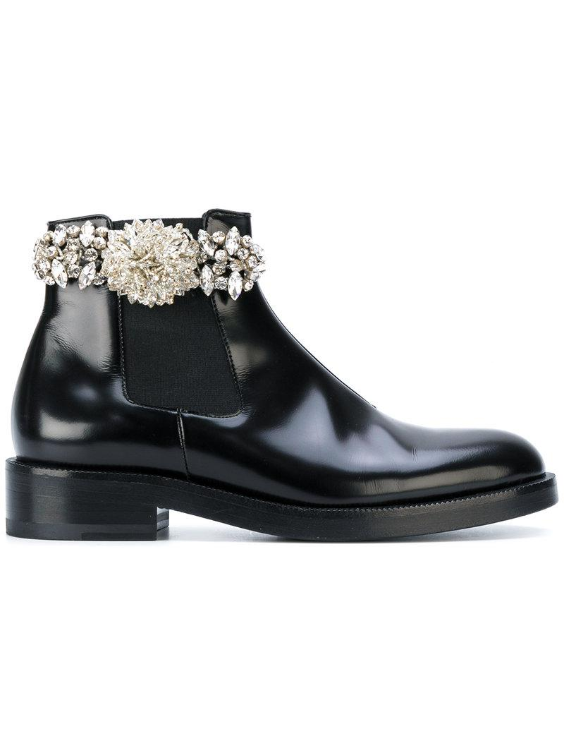 Christopher Kane crystal chelsea boot clearance low price tOmbsrpn