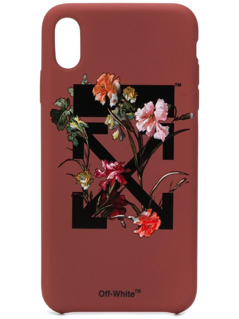 White Socks Series Bear Under Sakura Blossom iphone case