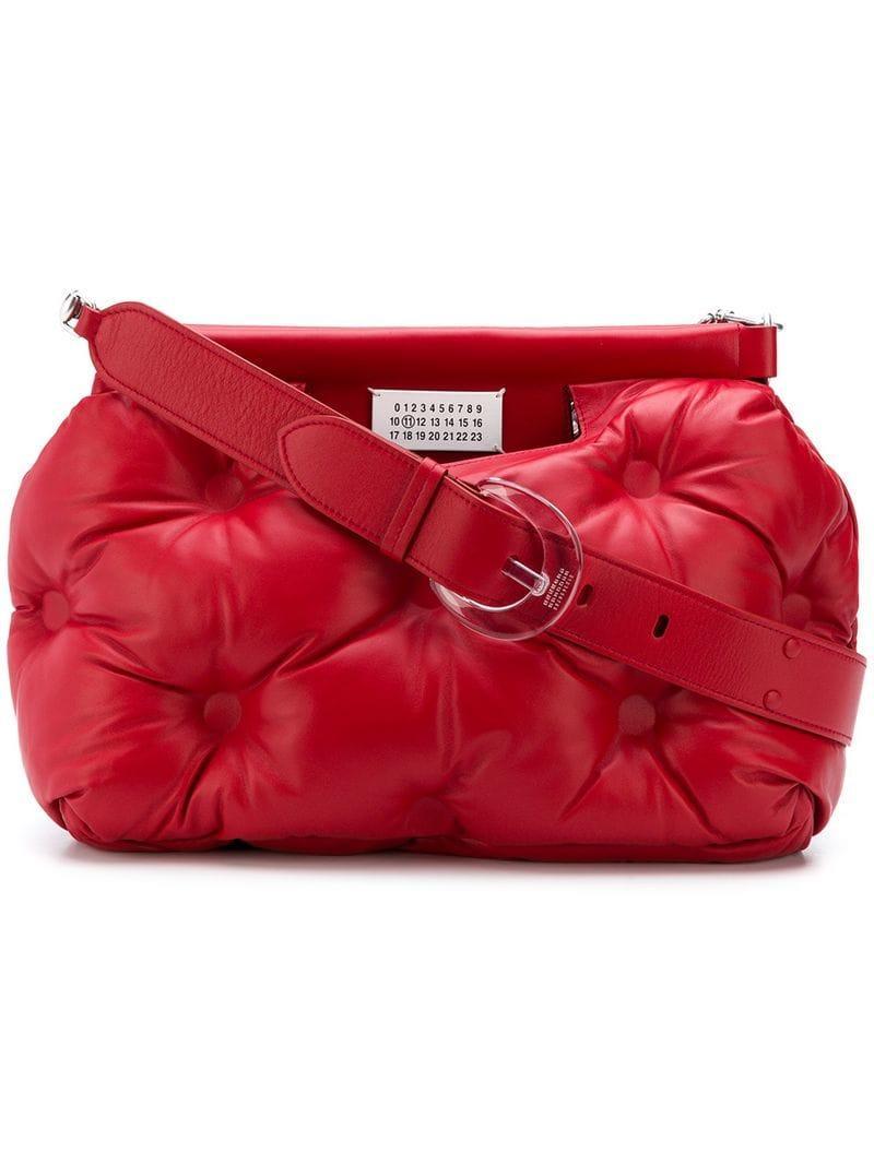 Mediano De Lyst Hombre Bolso Slam Rojo Maison Color Glam Margiela mw80Nnv