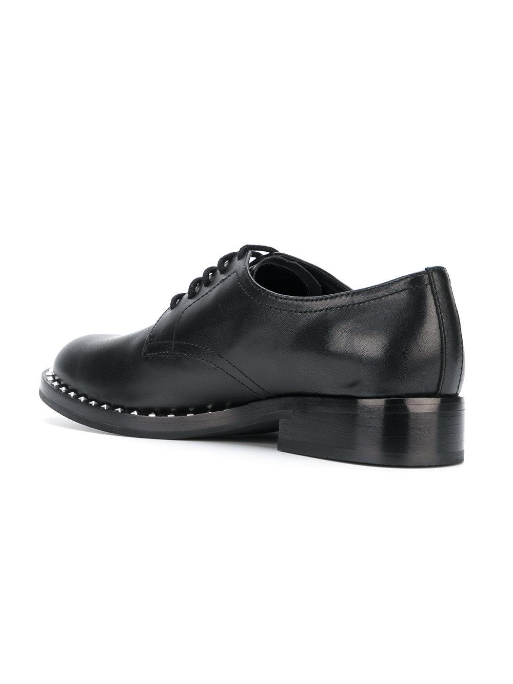 Ash Leather Wilco Shoes in Black for Men