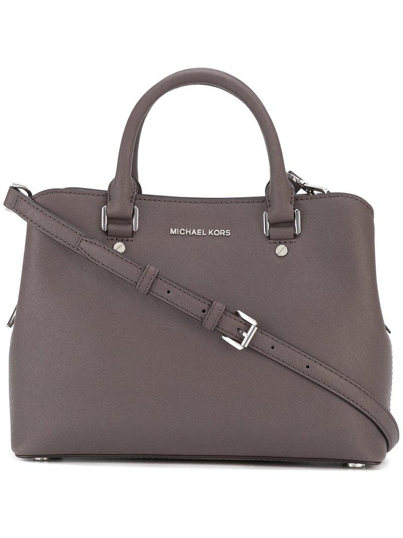 En Sac Savannah À Kors Marron Main Michael Lyst Coloris jL5AqR34