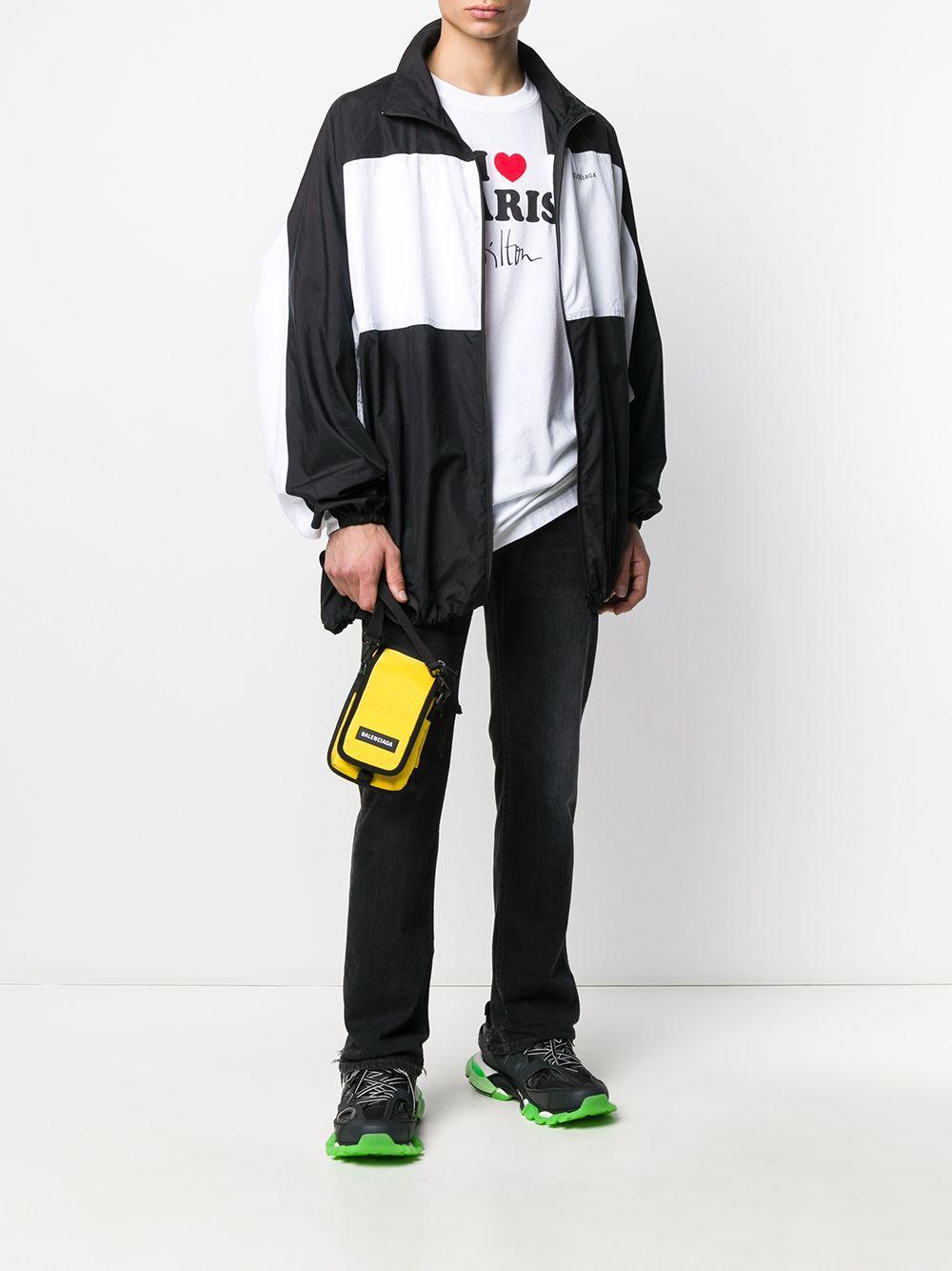 Sacoche Explorer Balenciaga pour homme en coloris Jaune
