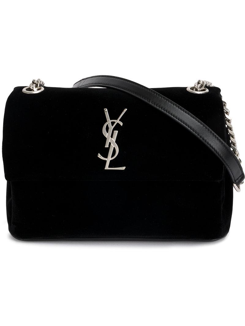 47a31cbbe9 Lyst - Saint Laurent Borsa  toy West Hollywood  in Black