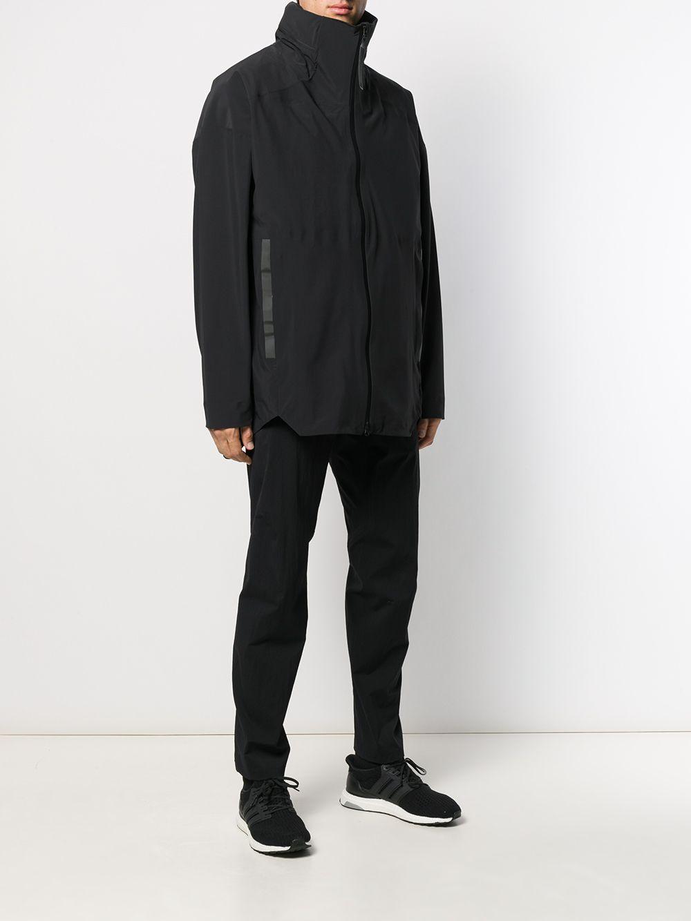 adidas Synthetisch Gelaagde Jas in het Zwart voor heren
